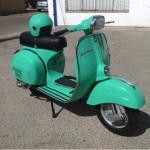 vespa 160 verde 4